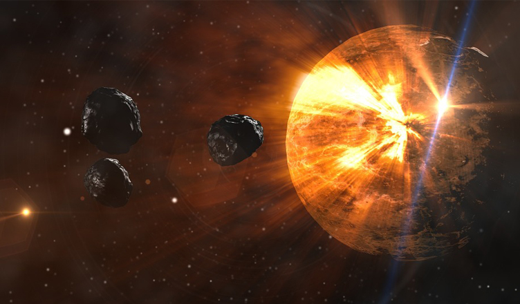 Scientists Suggest On Hitting Asteroids With Nukes