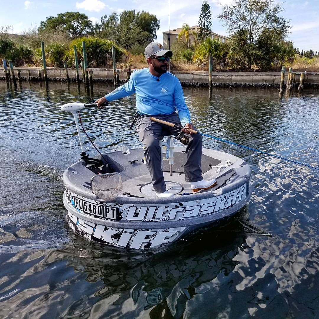 Ultraskiff 360 is the fishing platform everyone s waiting for for Fishing platform boat