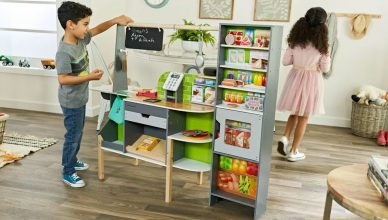 2-in-1 Kitchen for kids with Amazon Alexa voice assistant