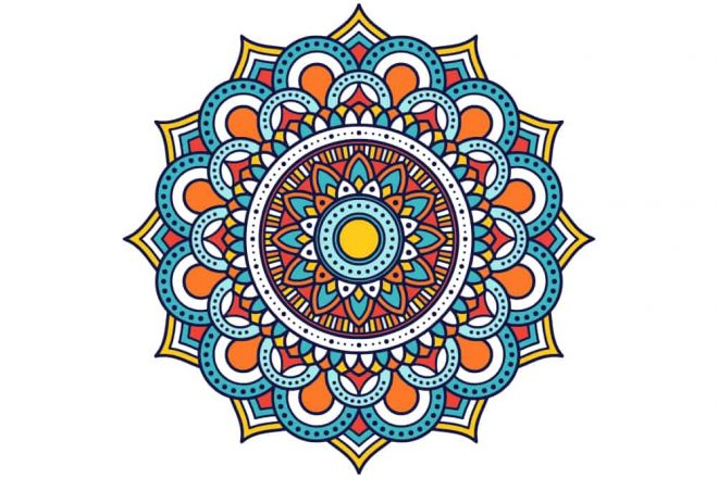 an image of a mandala