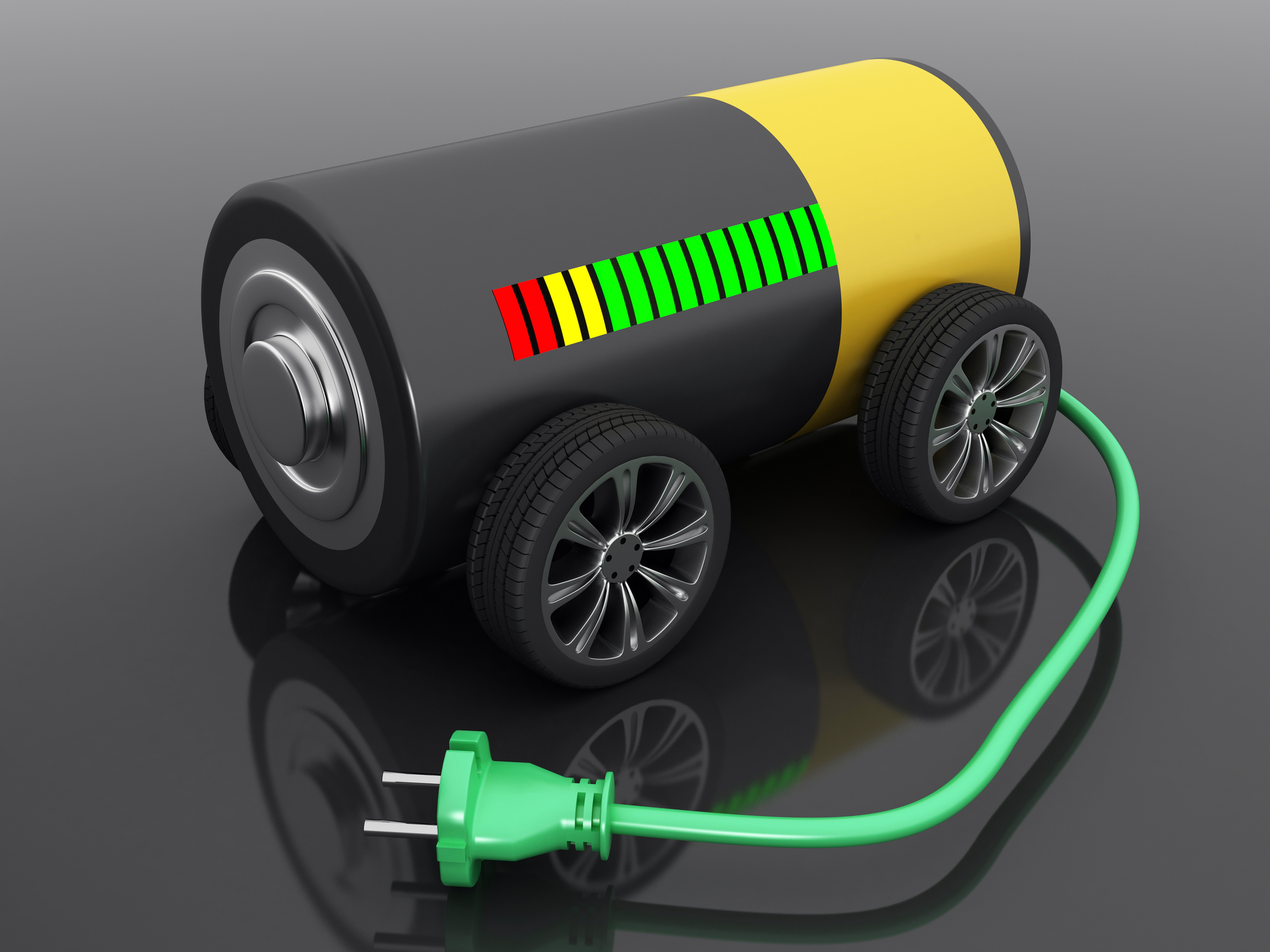 battery on wheels