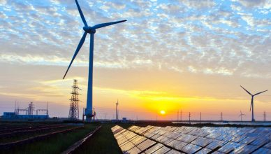 Renewable energy sources like solar and wind are finally overtaking coal.