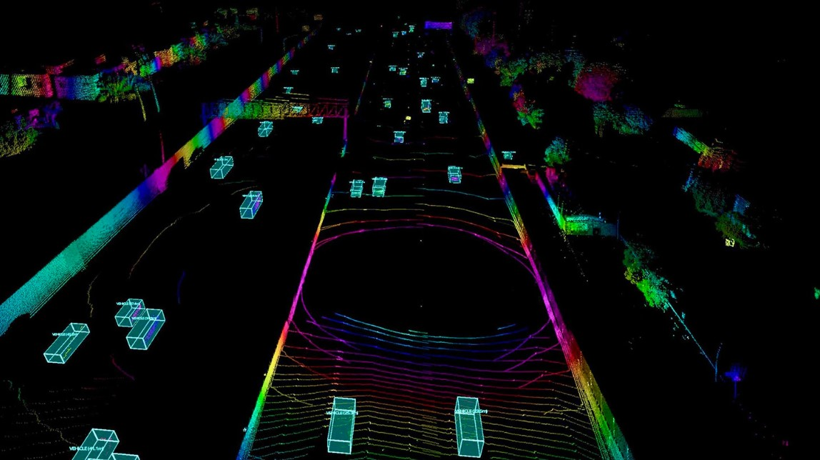 Volvo's LIDAR allows autonomous cars see in any lighting or weather.